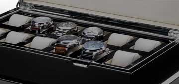 Boîtes de montre et vitrines